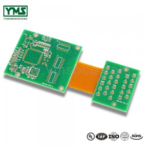 Green Soldermask flex-rigid Board | YMS PCB