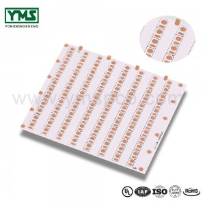 1Layer White solder mask Flexible Board | YMSPCB