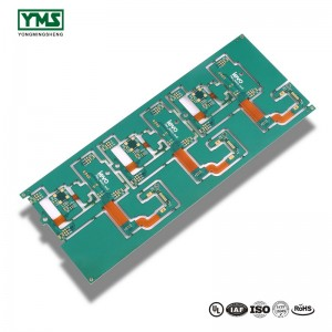 Immersion Gold,Blue Soldermask flex-rigid Board | YMS PCB