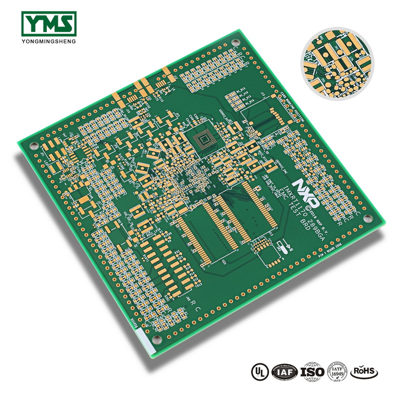 10 Layer High Tg Hard Gold HDI Board | YMS PCB Featured Image