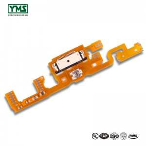 Manufacturer for 1layer Polyimide Base Material 35um Copper Flexible Pcb Design