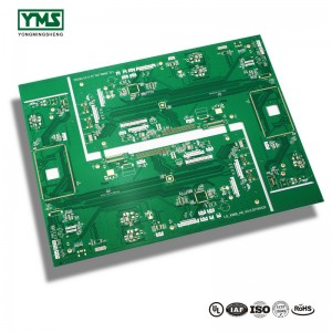 2Layer Lead free Hasl Green soldermask Board | YMS PCB