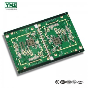 Good Quality Customized 0.5mm Thickness Green Solder Mask Rohs Pcb Board