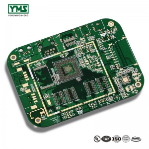 Selective Hard Gold PCB High TG FR4 Material main board| YMS PCB