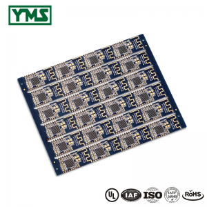 HDI pcb 3+N+3 Laser via copper plated shut Castellated Hole| YMSPCB
