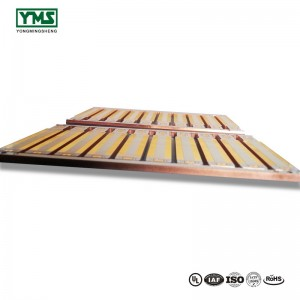 Double sided metal core pcb Copper Base High Power Metal core Board| YMS PCB