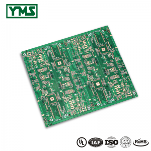 HDI printed circuit boards 8Layer 2 Step HDI Board| YMS PCB