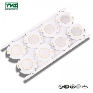 LED hliníková deska