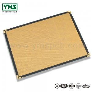 LED display screen pcb HDI laser via in PAD copper plated shut| YMSPCB