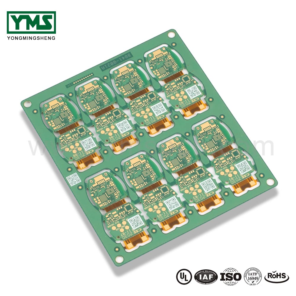 Rigid flex pcb multilayer FPC blind and buried via Qr code| YMSPCB Featured Image