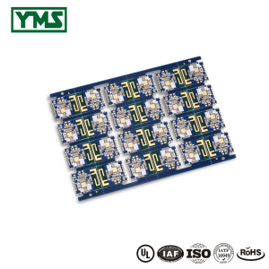 Mutilayer PCB Selective Hard Gold Plating Sideplating Castellated Holes| YMSPCB