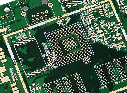 How to identify gold on a pcb | YMSPCB