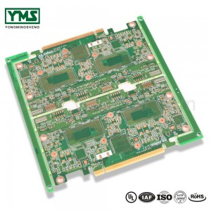 HDI pcb all Schicht hdi pcb High Speed ​​Insertion Verloscht Test enepig |  YMSPCB