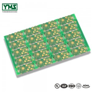 Multilayer pcb Sideplating Selektyf hurd goud Castellated Holes |  YMSPCB